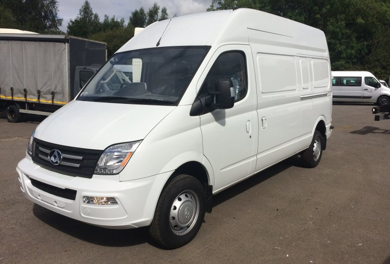 From £168 per month Brand New LDV V80 LWB high roof Panel van<