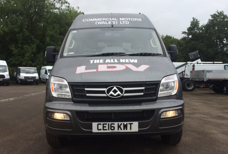 EX Demo LDV V80 LWB High roof panel Van<